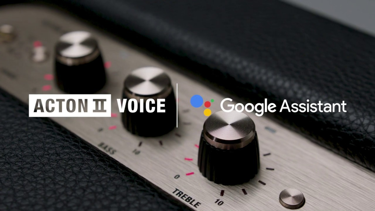 Marshall – Acton II Voice with the Google Assistant Built-In – I